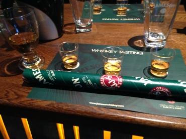 Whiskey tasting where I learned I hate peat.