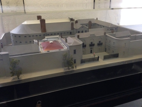 The model of the gaol.