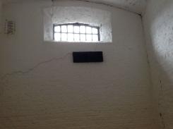 A single prison cell.