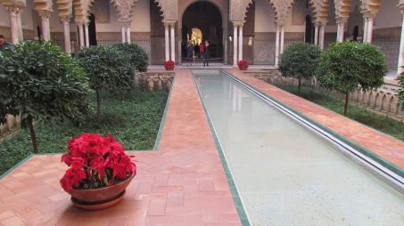 Reflecting Pool inside the Real Alcazar