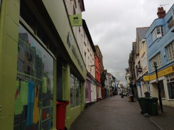 Penzance high street.