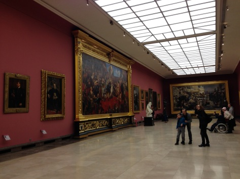 The interior to the epic-sized gallery.