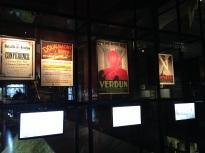 Propaganda posters urging people to focus on Verdun.