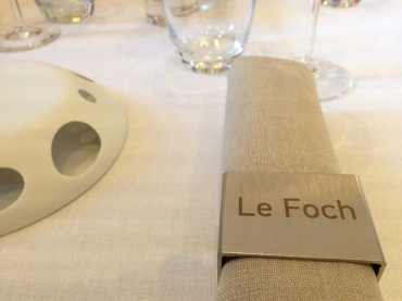 Very fancy place settings.