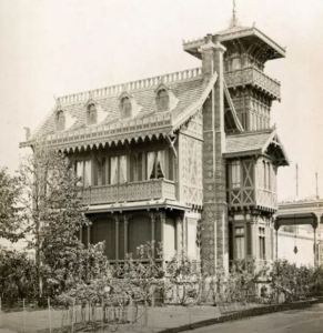 This is the house as it stood in Paris during the World's Fair of 1867.
