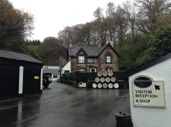 The entrance to the Glengoyne Distillery.