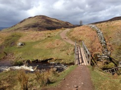 Conic Hill up ahead.