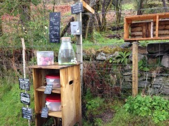 """A """"Wee Treat"""" stand to help stock up on supplies."""