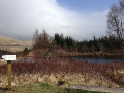 The famous loch itself.