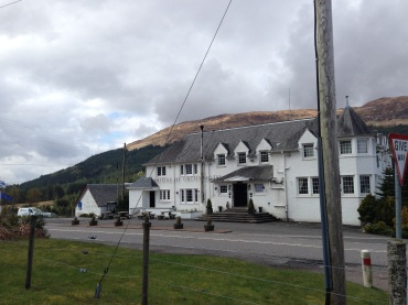 The Bridge of Orchy Hotel.