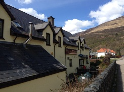 The Tailrace Inn pub.
