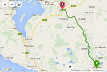 Milngavie to Drymen