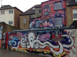 Massive art found in Chiswick.