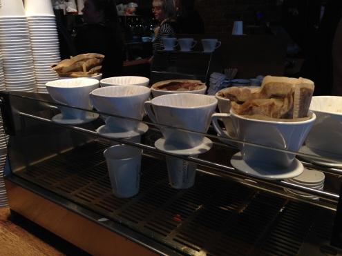 Legit coffee making stations.
