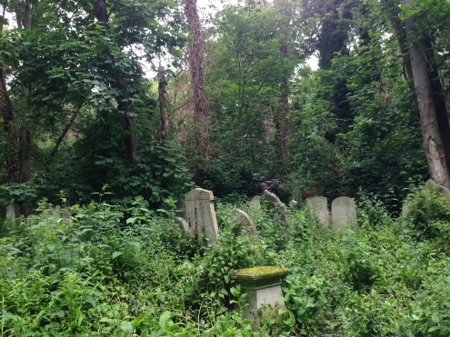 The cemetery is now a nature reserve.