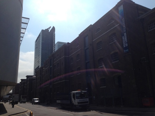 The Museum of London Docklands, in an original warehouse.