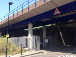 The tunnels and underpasses along Cable Street.