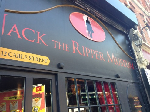 The Jack the Ripper Museum on Cable Street.