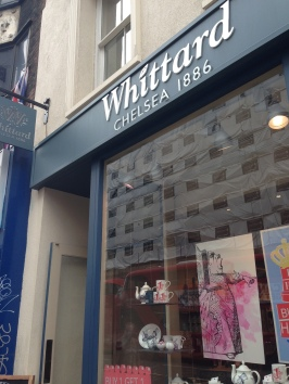 Whittard Coffee and Tea Retailer on Oxford Street.