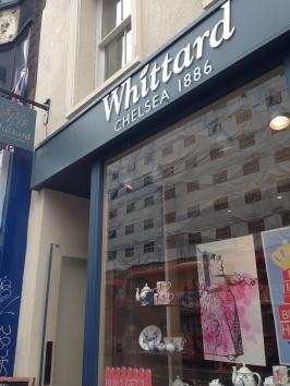 Whittard Coffee and Tea Retailer on Oxford Street.