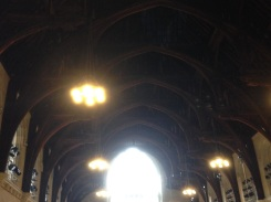 The original ceiling from King Richard II.
