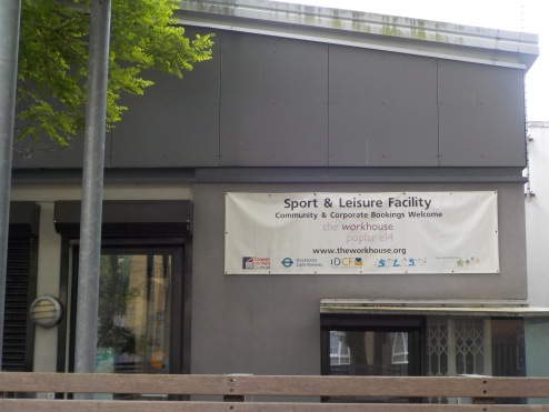 The Workhouse Sports and Leisure Center in Poplar.