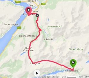Kinlochleven to Fort William