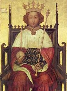 King Richard II portrait. Photo Credit: Wikipedia.com
