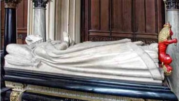 Mary Queen of Scots tomb effigy, Westminster Abbey