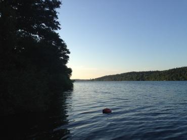 The Norrviken Lake in Sollentuna