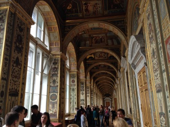 The grand hallways of the Winter Palace.