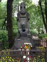 Dostoyevsky's headstone.