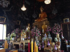 A statue of Buddha designed by King Rama II.