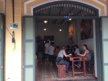 A side cafe near the Grand Palace called Ama.
