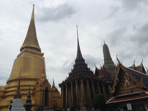 The Grand Palace compound.
