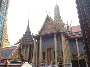 The entrance to The Temple of the Emerald Buddha.