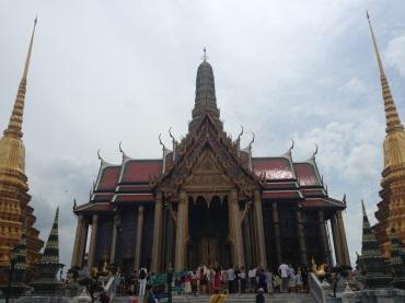The Grand Palace of Bangkok.
