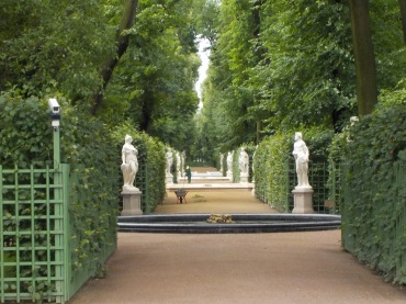 The Summer Garden of Peter the Great.