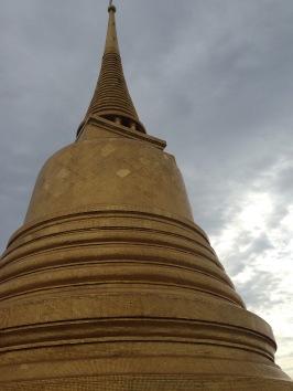 The Golden Mount spire.