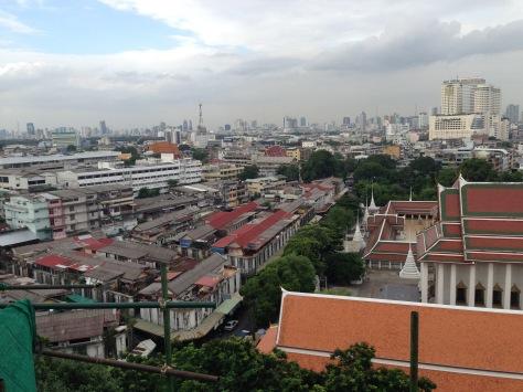 Views of Bangkok at our feet.