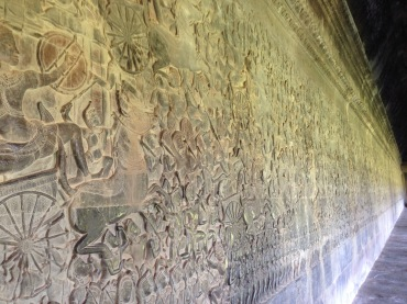 A mural of sorts depicting one of the most deadly wars fought centuries ago.