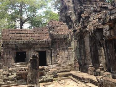 The beautiful Banteay Kdei.