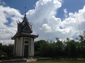 The stupa shrine.