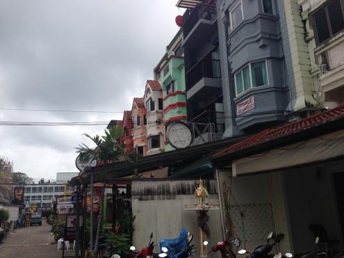 Off Patak Road in Phuket.