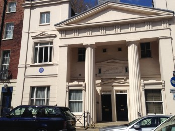 Ian Fleming's home in London.