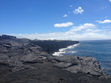 At the very end of The Big Island.