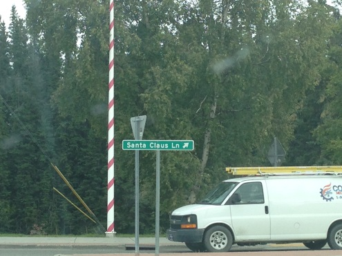 It's legit: Santa Claus Lane.