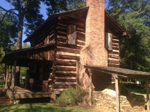 The Logan Log Home built in the 1700s.