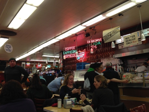 Katz's Deli was like stepping into a time capsule.