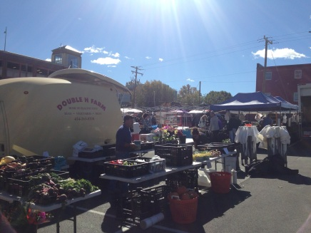 The Charlottesville Farmer's Market.